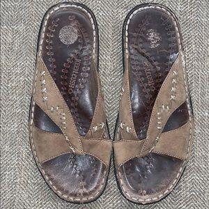 EUC Keen.cush Sandals Size 7.5.